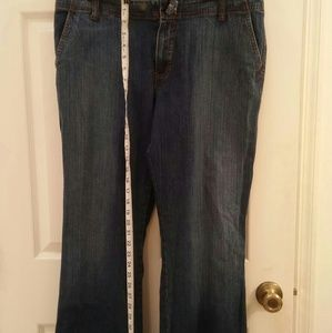New York & Company Jeans - New York & Company means size 14 wide leg